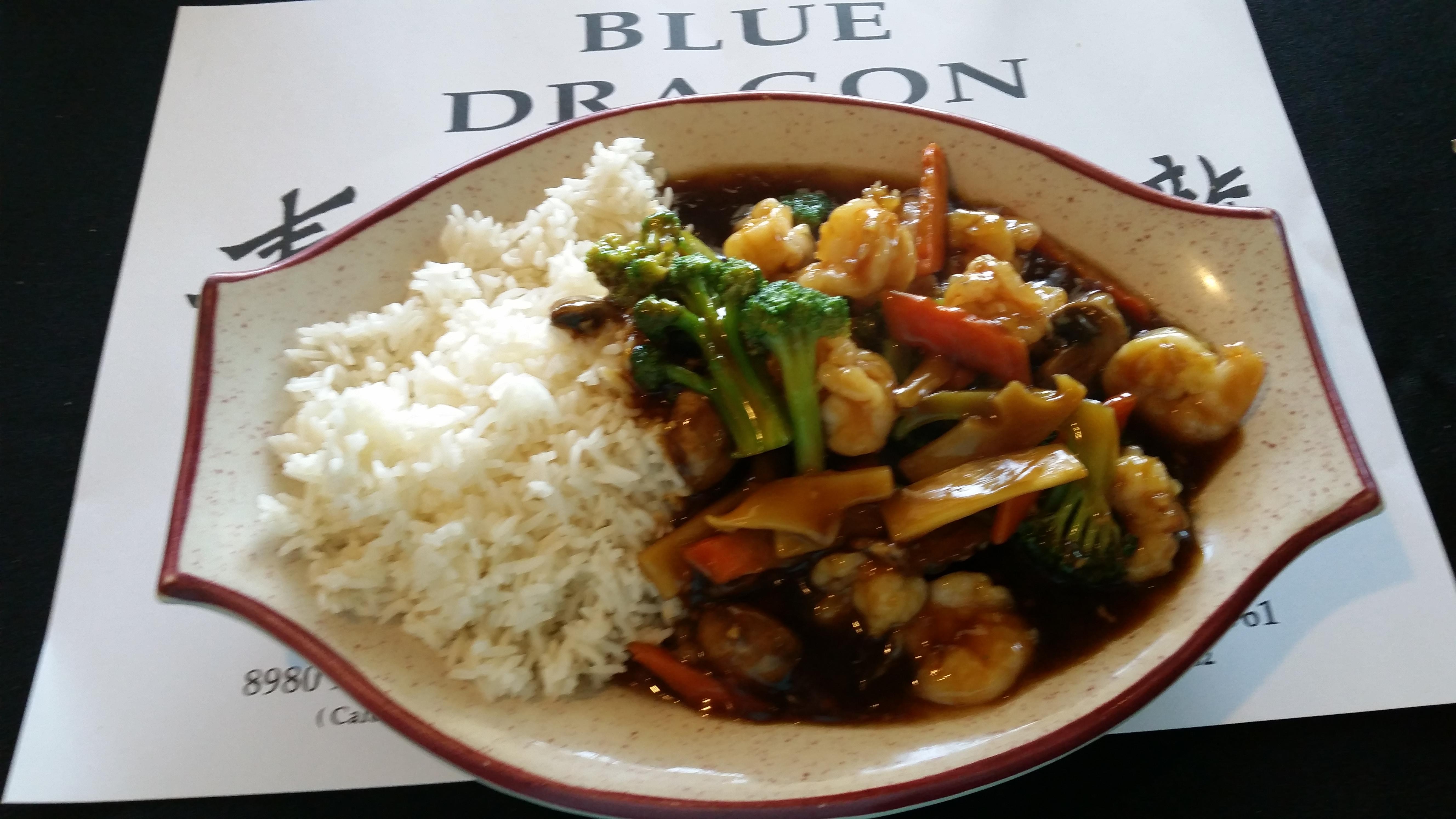 Dinner at Blue Dragon